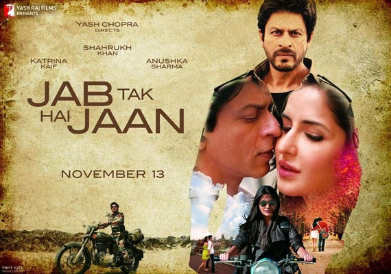 Movie review: Jab Tak Hai Jaan- high on emotion, enjoyable