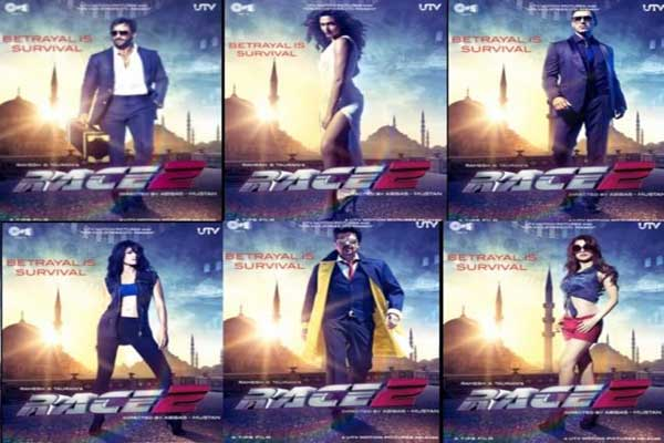 Movie review: Race 2- just a blend of glamorous stars