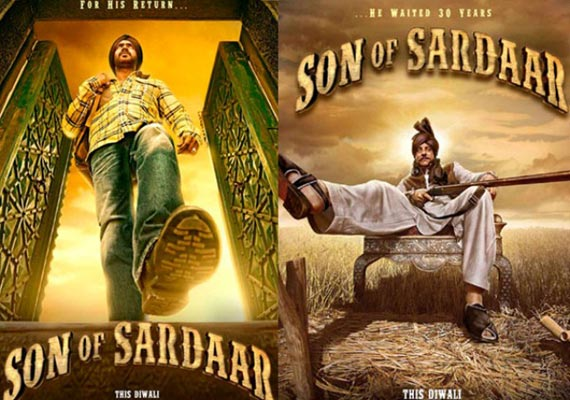 Movie review: Son Of Sardar, jokes fall flat, may cause headache