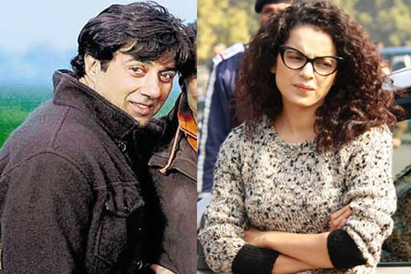 Odd  pair Sunny Deol, Kangana Ranaut's  movie hit the screens on April