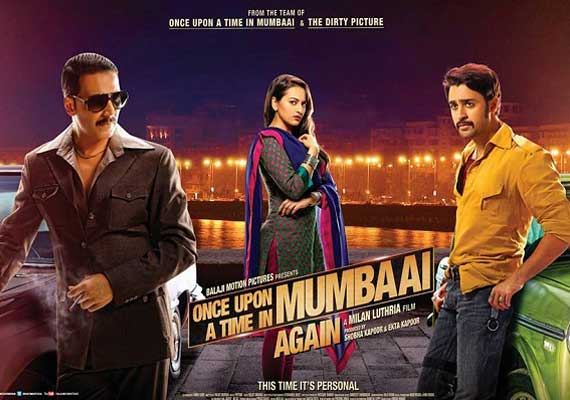 Once Upon A Time in Mumbaai Dobara movie review: Akshay, Sonakshi fail to ...