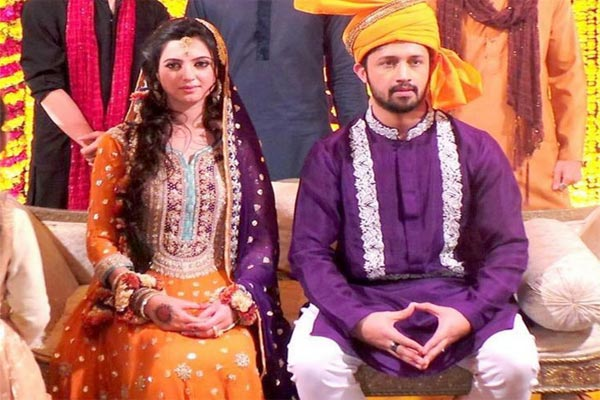 Pakistani singer Atif Aslam weds long-time sweetheart
