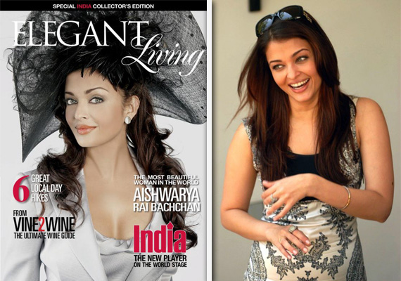 Post-Pregnancy, Aishwarya Appears On Cover Of Elegant Living