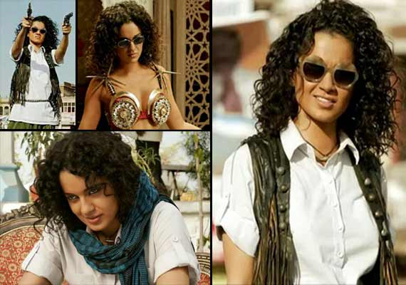 Queen Kangana Ranaut turns lady Dabangg in 'Revolver Rani' (watch trailer)