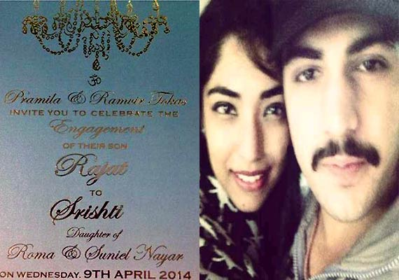 Rajat Tokas announces engagement, to marry fiancé Shrishti Nayyar in