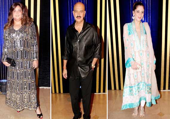 Rakesh Roshan and daughter Sunaina's fashion faux at ...