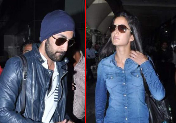 Ranbir and Katrina return from Spain holidays (view pics)