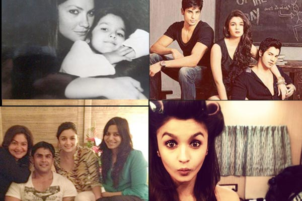 Rare pictures of Alia Bhatt