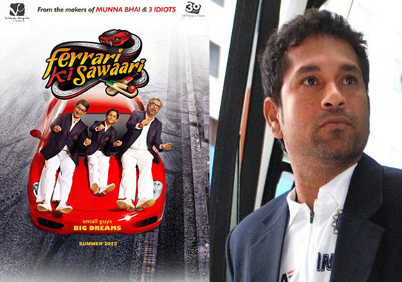 Sachin Tendulkar in 'Ferrari Ki Sawari'&#63