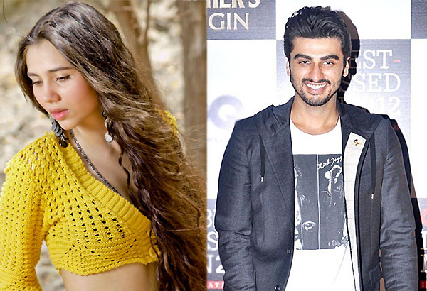 Salma Agha's daughter to romance Arjun Kapoor in 'Aurangzeb'