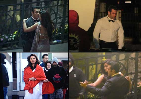 Salman Khan romances Daisy Shah on 'Jai Ho' sets (view pics)