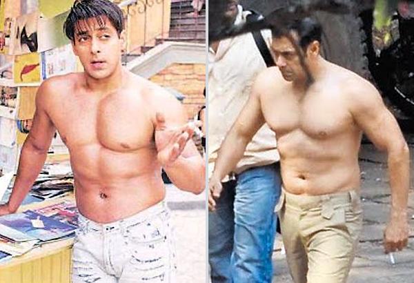 Salman goes topless in Ek Tha Tiger