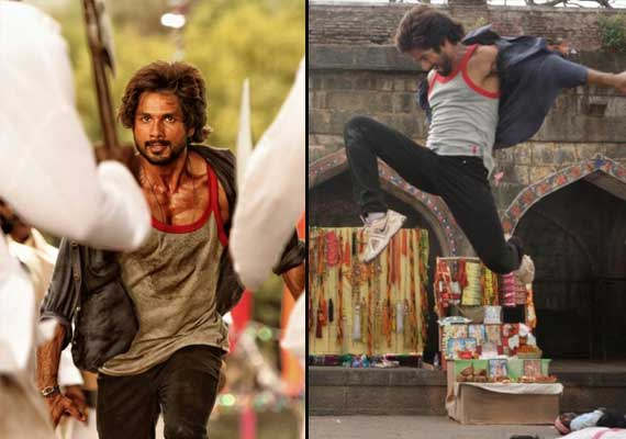 Shahid Kapoor's aggressive look in 'Rambo Rajkumar' out (view pics)