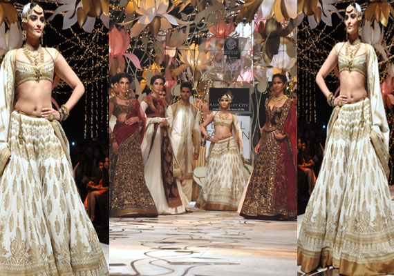 Indian Bridal Fashion week: Sonam Kapoor turns into a beautiful bride
