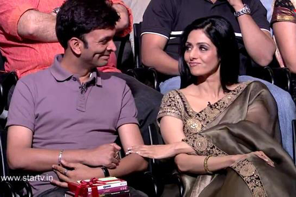 Sridevi cheers up sexual abuse victim on Aamir's show