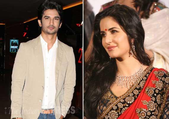 Sushant Singh Rajput woos Katrina Kaif