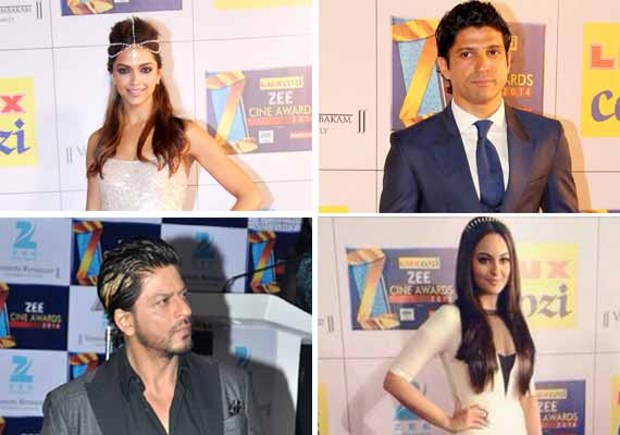 Zee Cine Awards 2014: Deepika-Shah Rukh win top honours (view complete winners list)