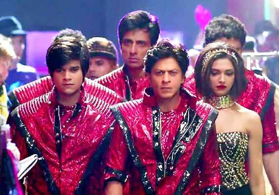 Story of Happy New Year Srk Srk's Happy New Year Trailer
