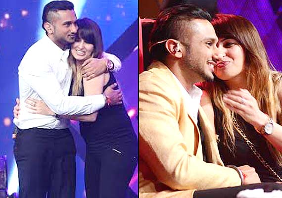 Yo Yo Honey Singh's wife calms him down on the sets of India's Raw ...