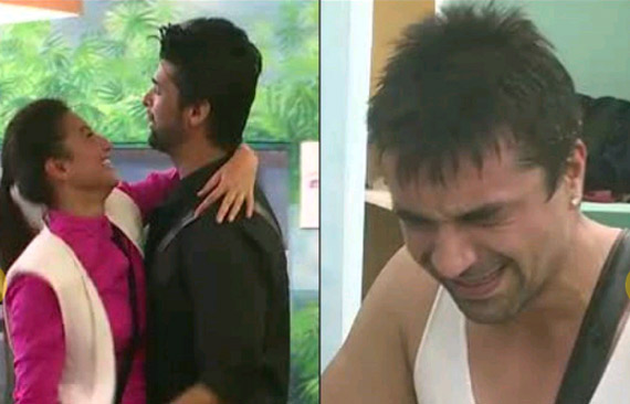 Bigg Boss 7: Ajaz breaks down, as Gauhar and Kushal get close and dance (see pics)