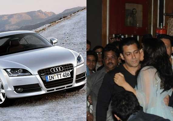 Salman Khan gifts Audi to 'Kick' co-star Jacqueline Fernandez