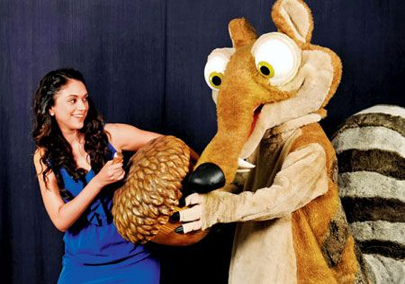 Aditi Rao Hydari to sing for Hollywood film 'Ice Age 4'
