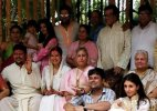 Aishwarya, Abhishek, Jaya attend family wedding sans Amitabh Bachchan
