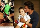 Shah Rukh's son AbRam joins 'Swachh Bharat Abhiyaan', poses with broom