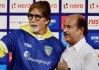 Big B wishes Rajinikanth on his 64th birthday