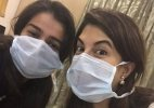 Jacqueline Fernandez pays visit to ailing Sonam Kapoor in hospital