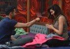 Bigg Boss Halla Bol: Karishma Tanna kisses Upen Patel (see pics)