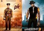 'PK' zooms past 'Dhoom: 3' earnings in one week