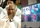 Rajinikanth attends Jayalalithaa's swearing-in ceremony (see pics)