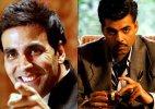 Why did Akshay Kumar take potshots at Karan Johar&#63