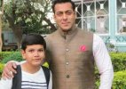 Salman Khan gets clicked with kids on 'Prem Ratan Dhan Payo' sets