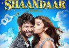 'Shaandaar' first look: Alia Bhatt plants a kiss on Shahid Kapoor's cheeks