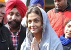 Aishwarya Rai Bachchan shoots for Sarbjit at Golden Temple