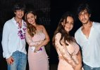 Shah Rukh Khan-Gauri Khan and Abram's memorable pics of Goa trip