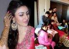 Soha Ali Khan's mehendi ceremony: Bride along with Kareena, Saif look all happy (see inside pics)