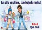 Amul celebrates lifting of SRK's Wankhede Stadium ban