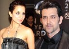 Kangana keeps 'distance' from rumoured flame Hrithik Roshan at party
