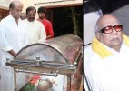Rajinikanth, Prakash Raj, Karunanidhi pay their last respects to Balachander