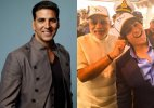 akshay kumar son pm modi photo