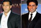 Salman Khan, Abhishek Bachchan remember Sholay!