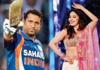 tendulkar madhuri dixit Make in India week