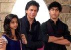 Shah Rukh Khan's kids are not safe around him