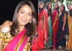 Mira Rajput looks hot and beautiful in a saree without Shahid Kapoor