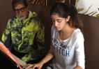 Not Bollywood, Amitabh's granddaughter Navya to debut in Paris!