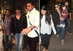 Shah Rukh Khan and family spotted at Mumbai airport on return from Dubai
