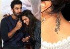 OUCH! Deepika's bizarre reply on her Ranbir Kapoor tattoo might upset him!
